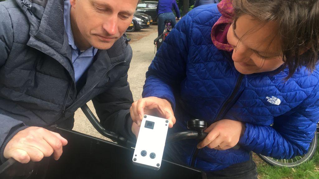 Provincie laat fietsers fijnstof meten in nieuw experiment