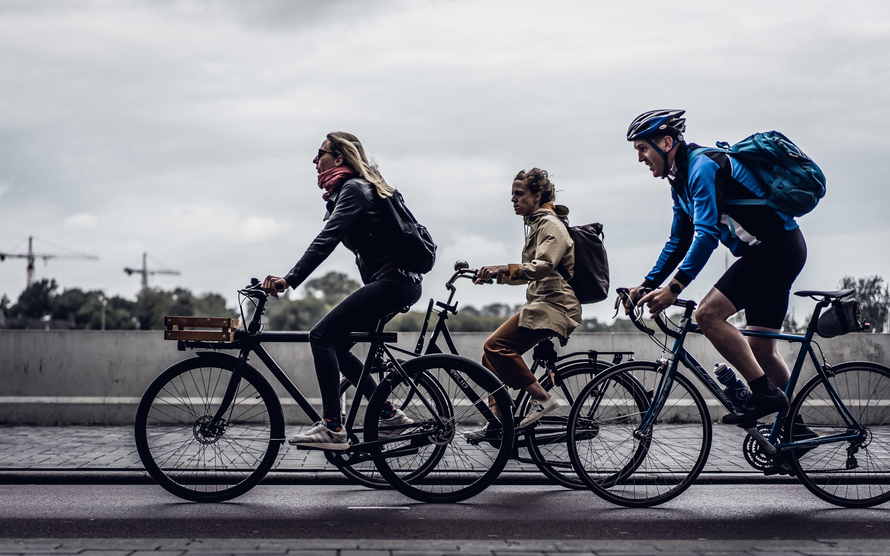 550 Snuffelfietsers trappend naar een betere leefomgeving