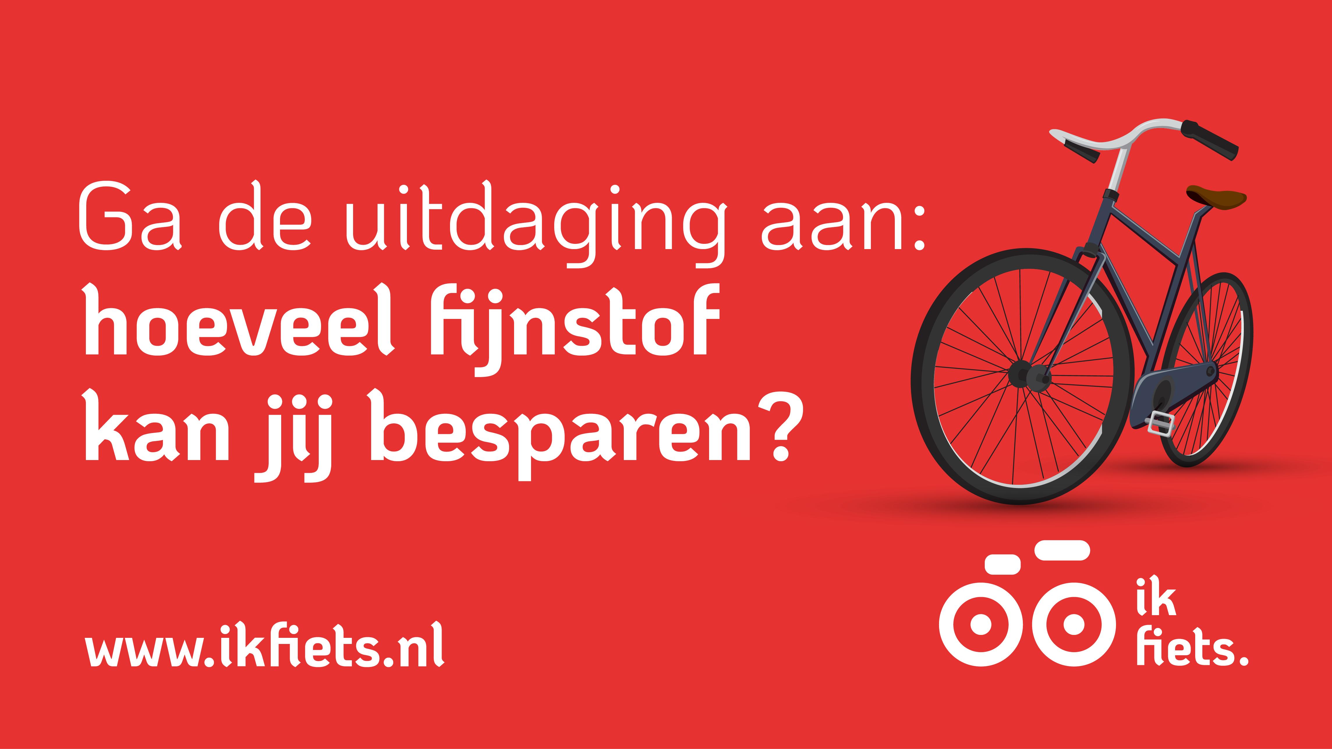 Ga met Ik fiets de uitdaging aan
