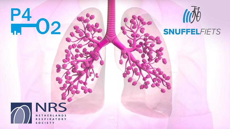 Snuffelfiets in longziekte-onderzoek